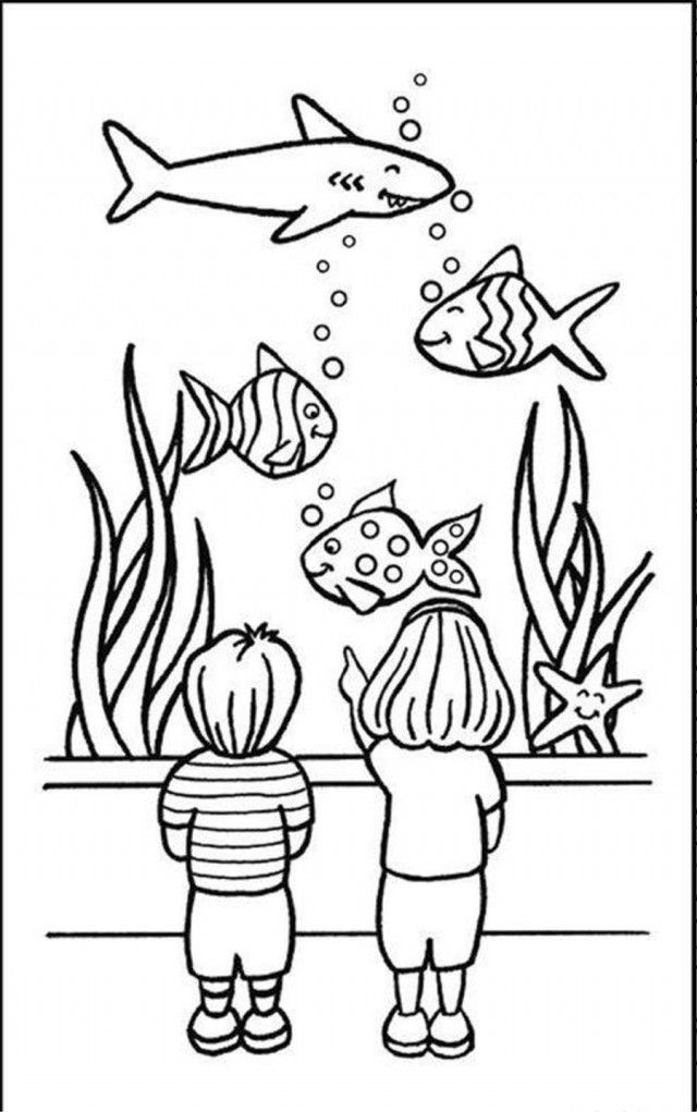 fish aquarium coloring pages coloring pages fish tank coloring pages printable kids aquarium fish pages coloring