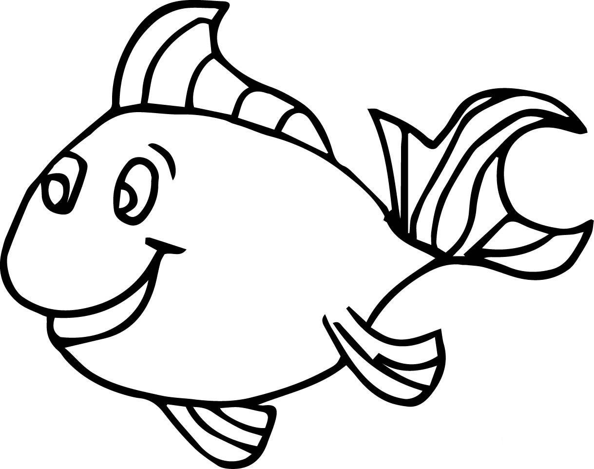 fish picture to color fish coloring pages for kids 14 pics how to draw in 1 color picture to fish
