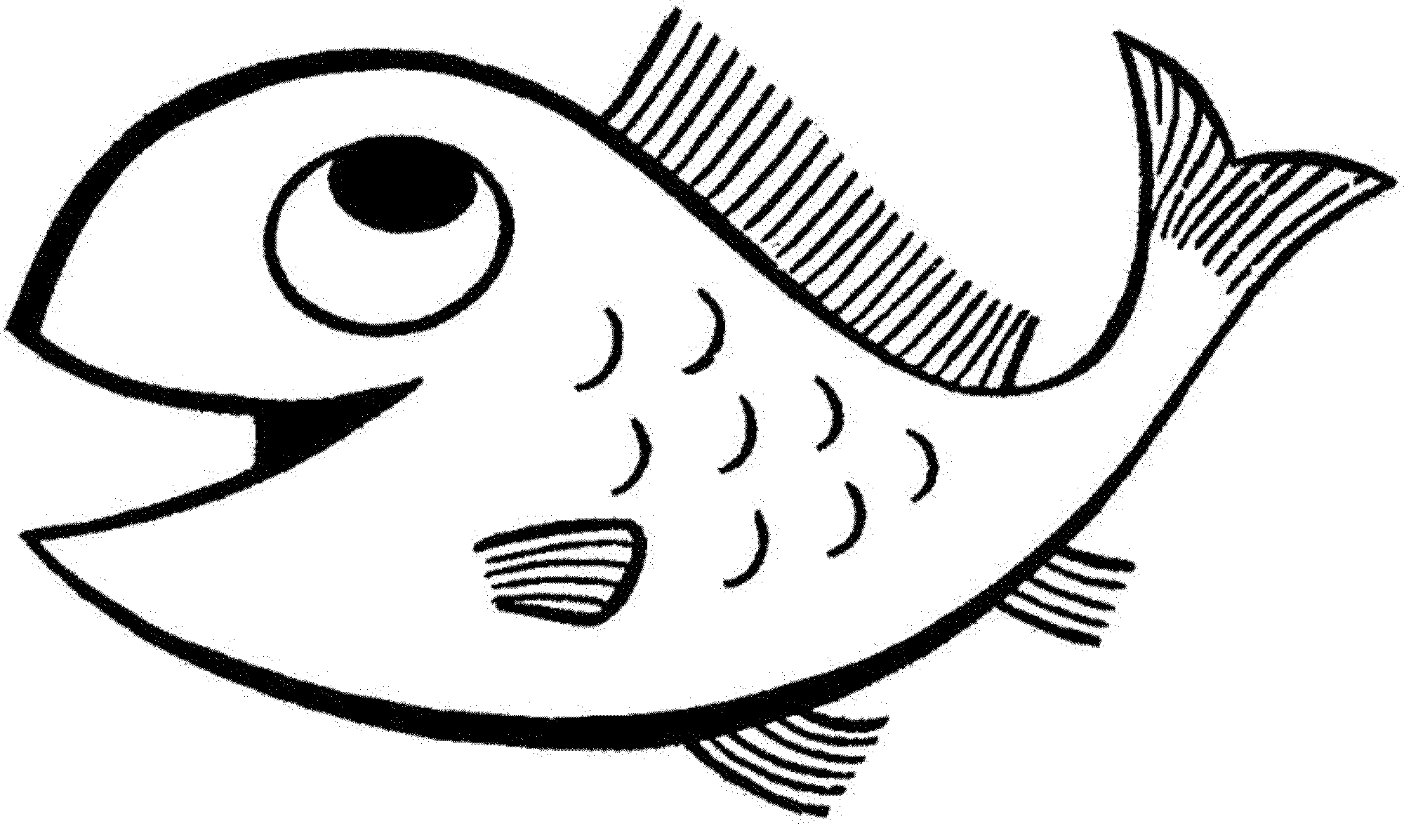 fish picture to color free printable fish coloring pages for kids color fish to picture