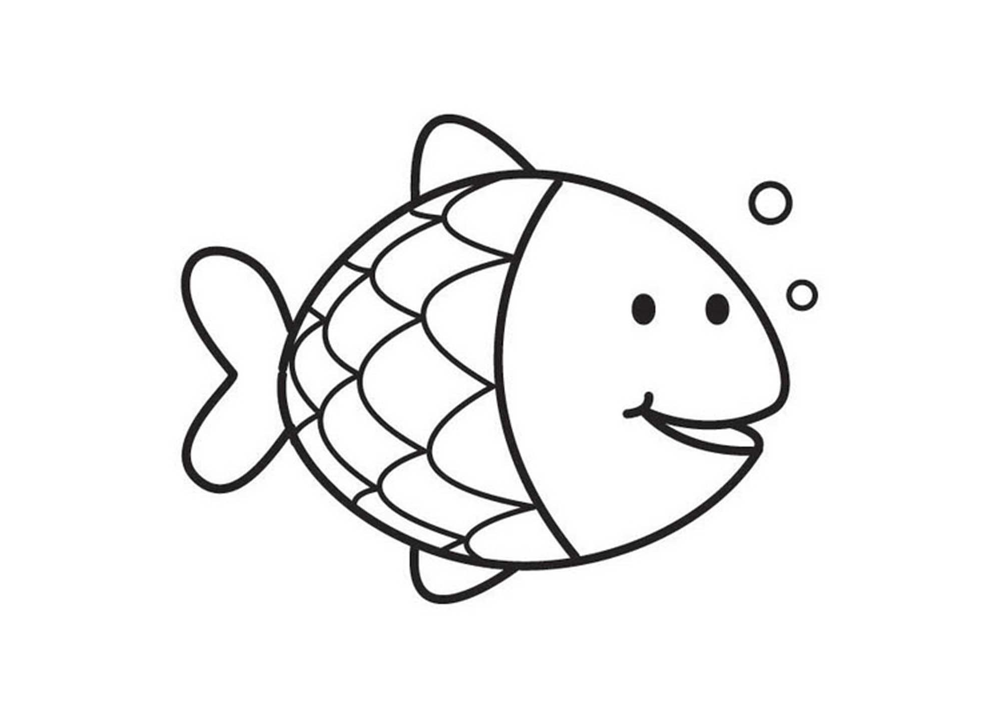 fish picture to color free printable rainbow fish coloring pages funsoke picture to color fish