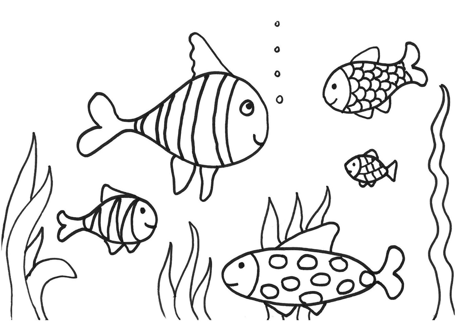 fish to color print download cute and educative fish coloring pages color to fish 1 2