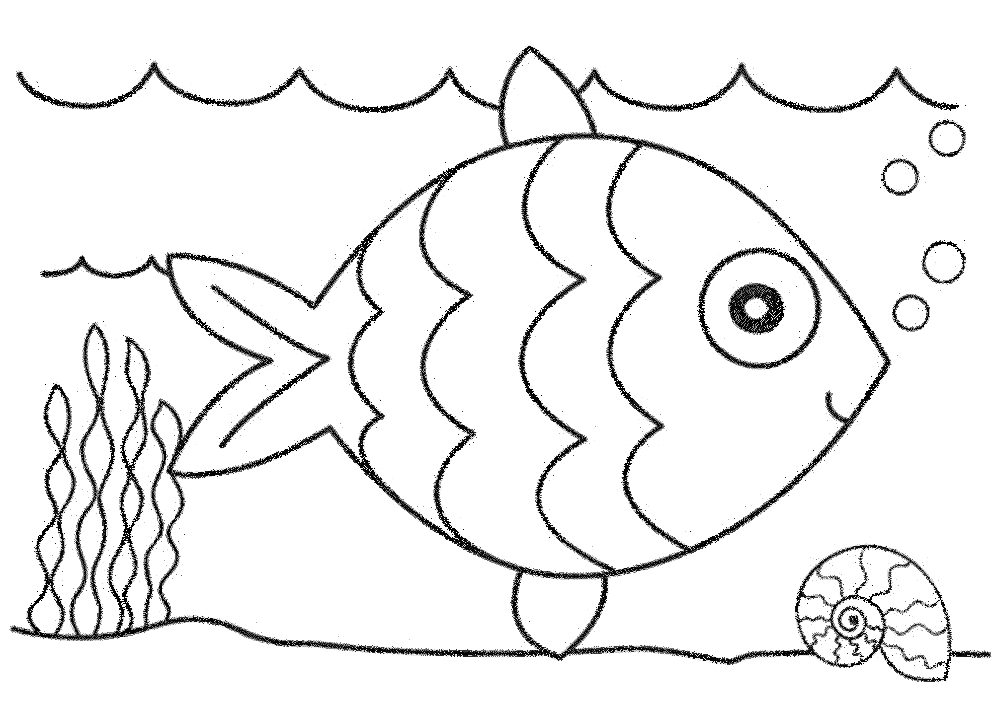 fish to color printable fish coloring pages at getdrawings free download to color fish