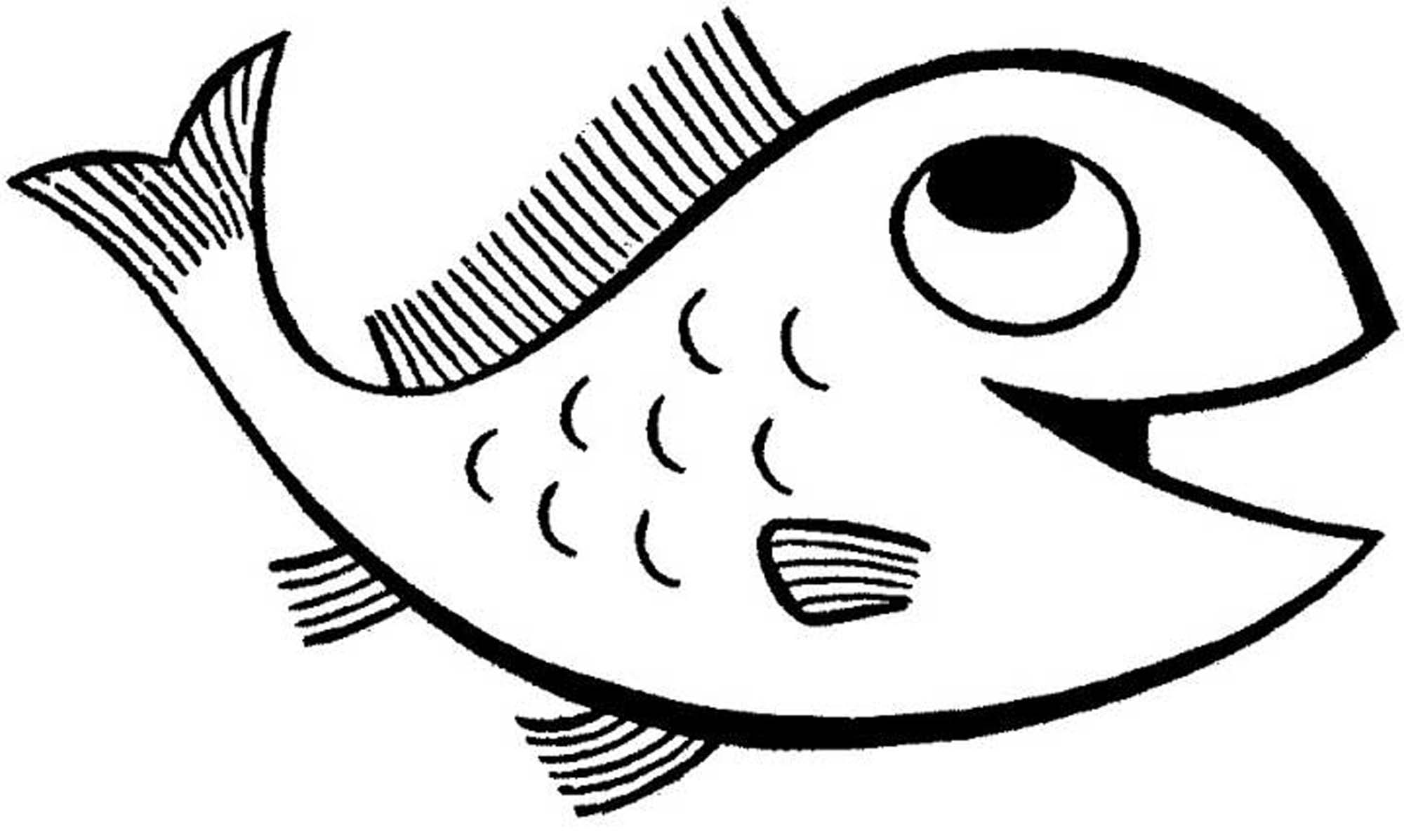 fish to color simple fish coloring pages download and print for free fish color to