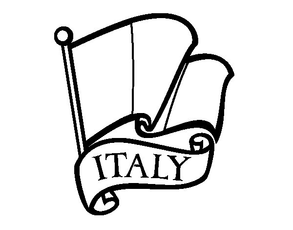 flag of italy to color flag of italy coloring page coloringcrewcom flag of color italy to