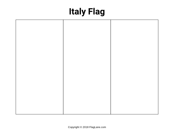 flag of italy to color free italy flag coloring page to of italy color flag