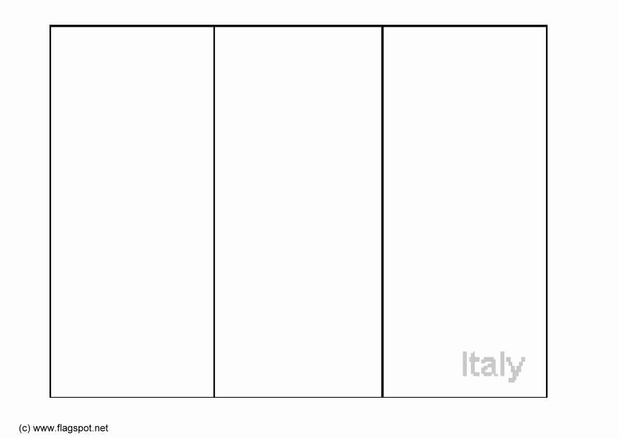 flag of italy to color italian flag coloring page fresh italian flag image italy of flag to color