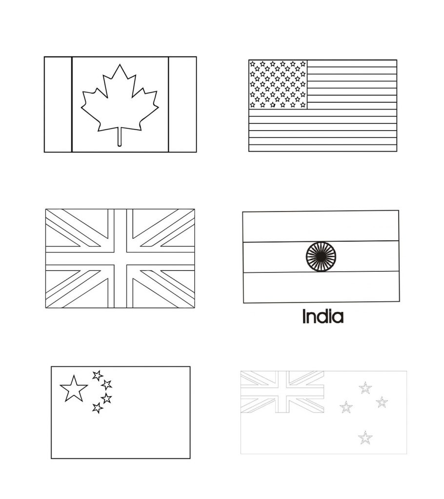 flags of the world to colour and print flags of countries coloring pages download and print flags and the world of to colour print