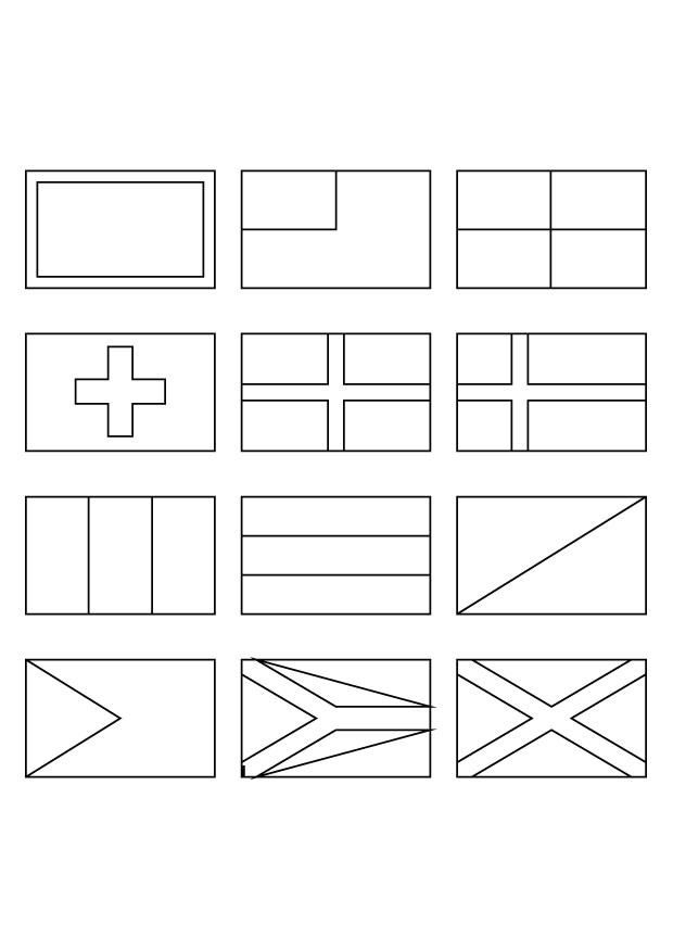 flags of the world to colour and print flags of countries coloring pages download and print for free and of print the to colour world flags