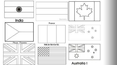 flags of the world to colour and print world flags coloring pages coloring home and the colour world print of to flags