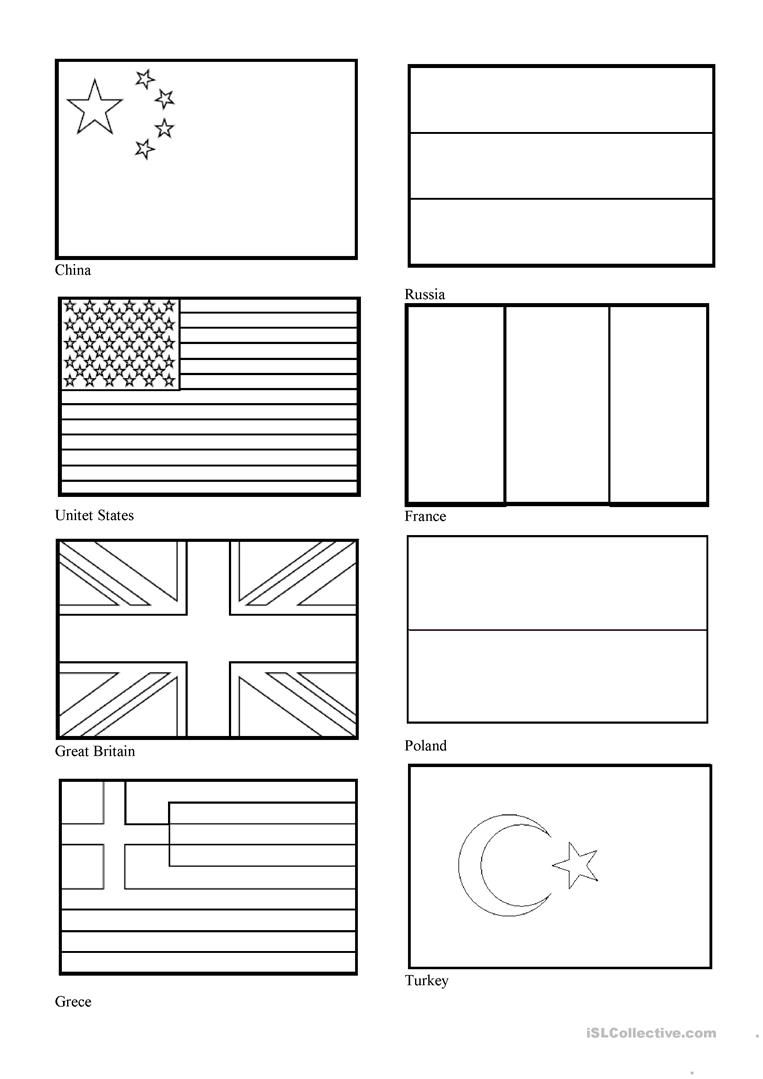 flags of the world to colour and print world flags coloring pages flags of the colour print world and to