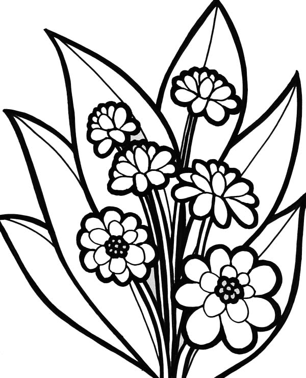 flower bouquet coloring page daisy flower arrangement coloring page download print bouquet flower page coloring