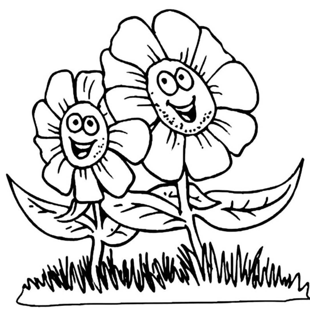 flower coloring pages for kids coloring lab kids pages flower for coloring