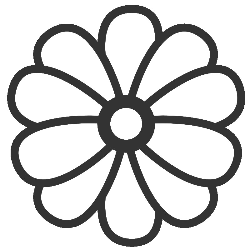flower templates for coloring cartoon flower outline 20 free cliparts download images flower templates coloring for