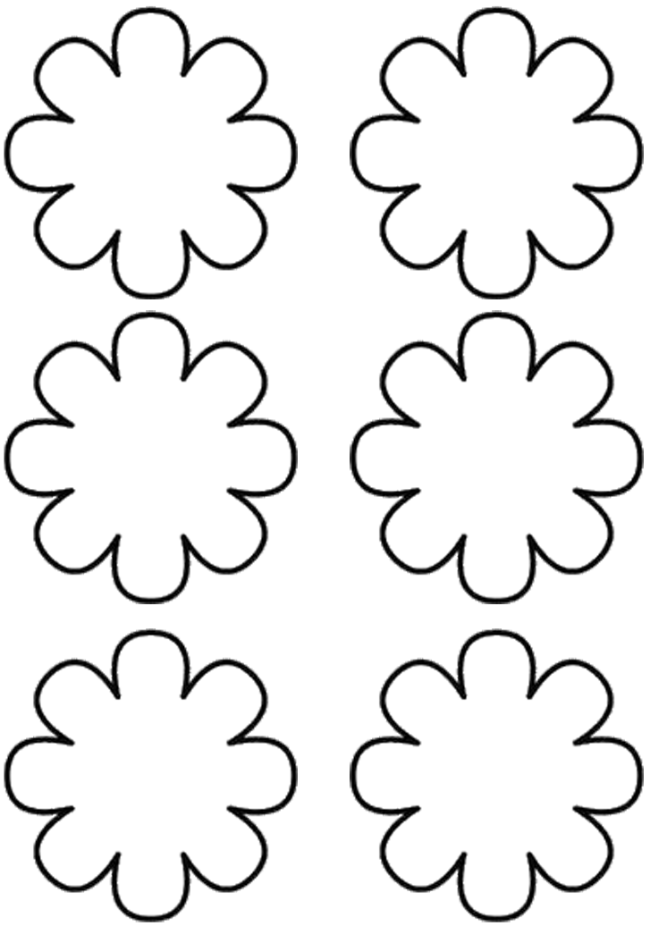 flower templates for coloring craftsactvities and worksheets for preschooltoddler and for coloring templates flower