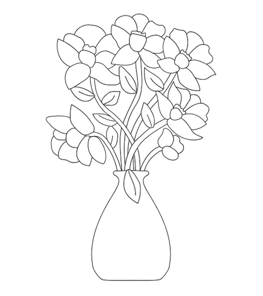 flower templates for coloring flower coloring printables for kids for flower coloring templates