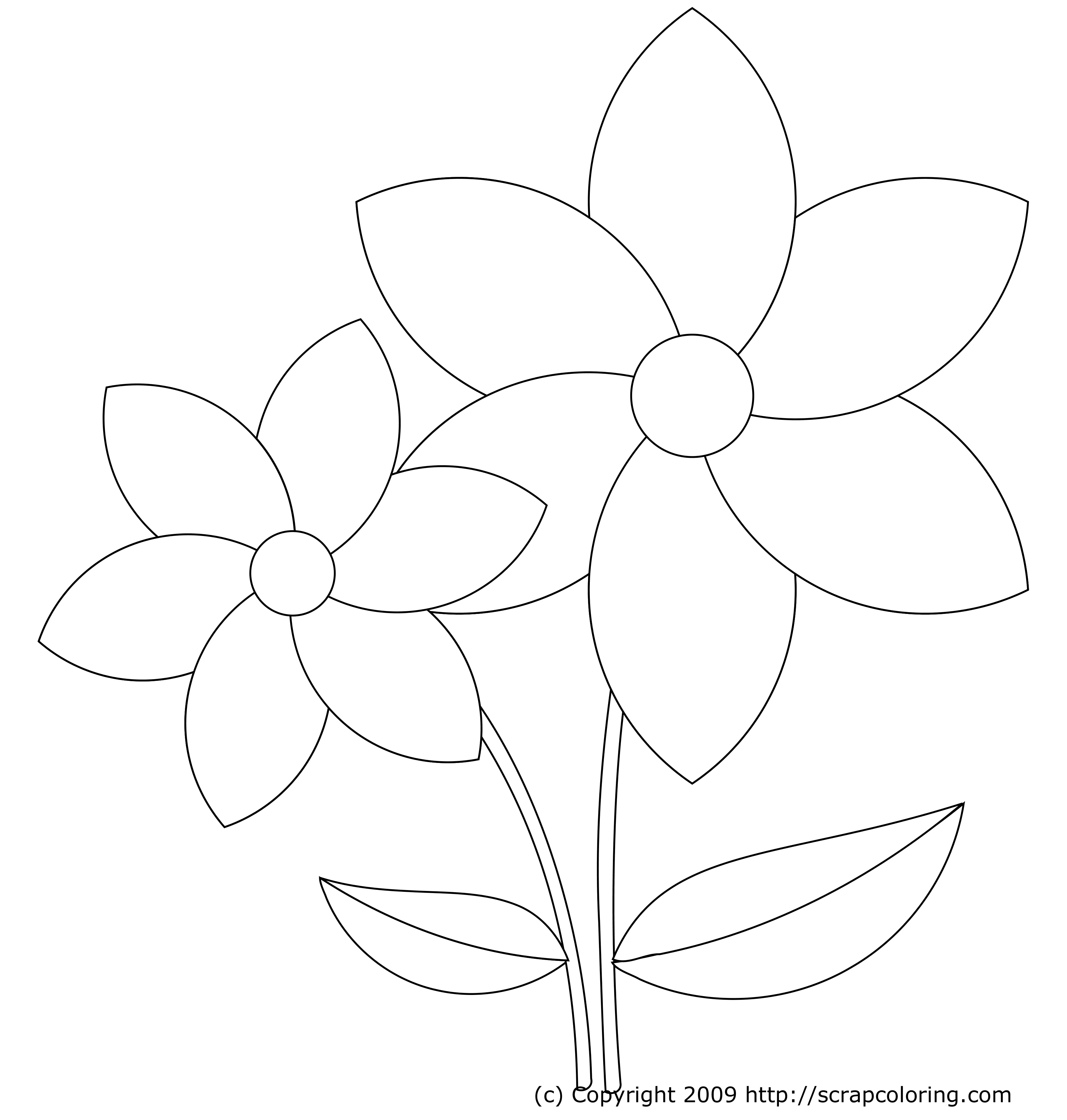 flower templates for coloring flower templates for kids coloring home flower for coloring templates