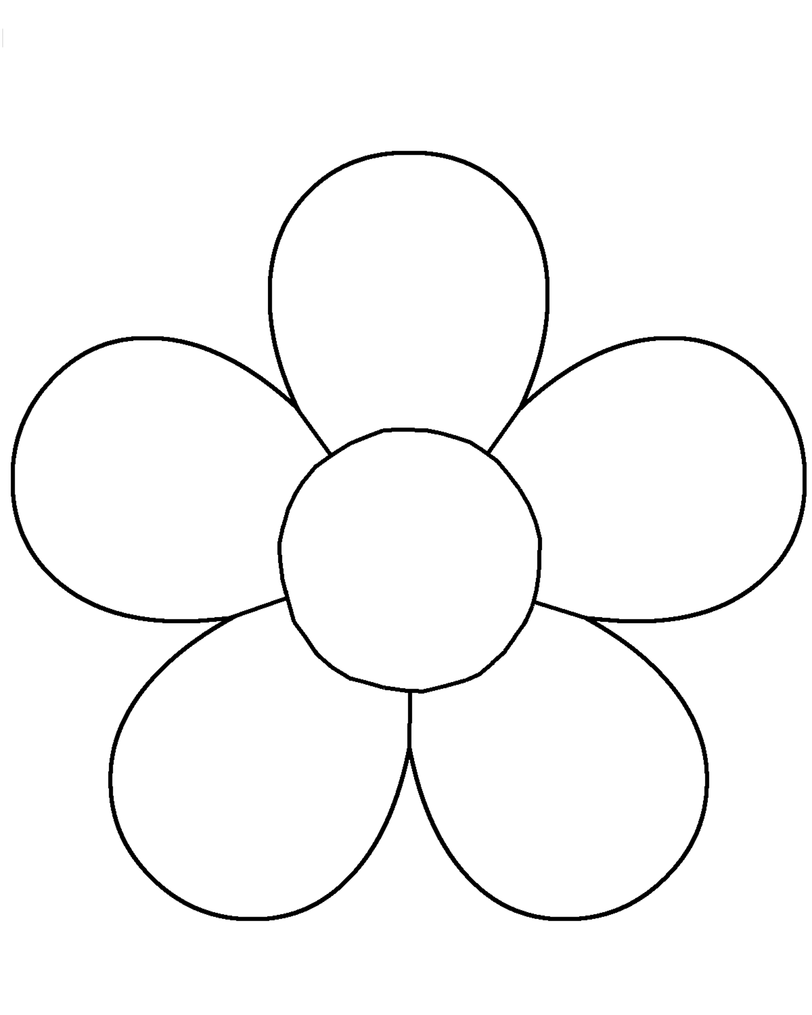 flower templates for coloring free printable flower coloring pages for kids best for coloring templates flower