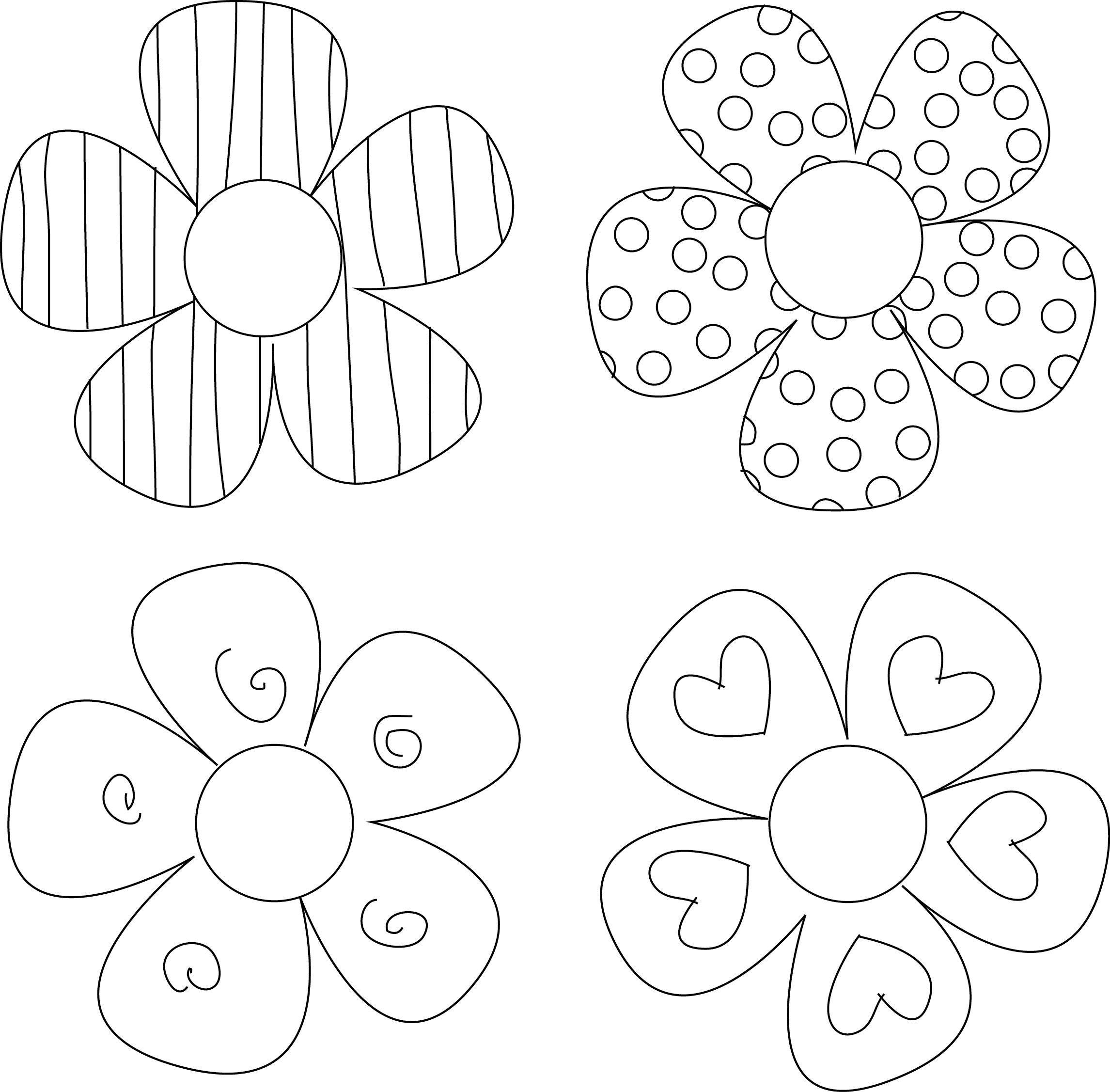flower templates for coloring printable flower templates coloring home coloring templates for flower