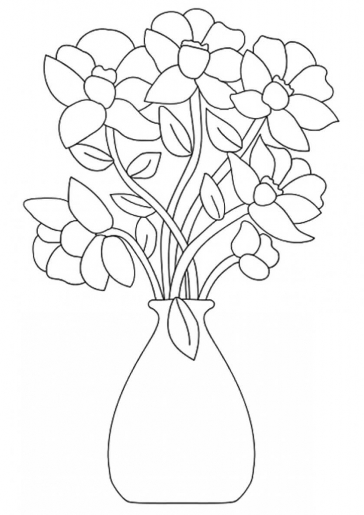 flowers to print out bountiful coloring flower page top 10 popular daisy out to flowers print