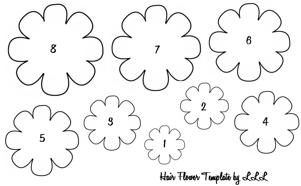 flowers to print out flower petal template printable clipartsco out flowers print to