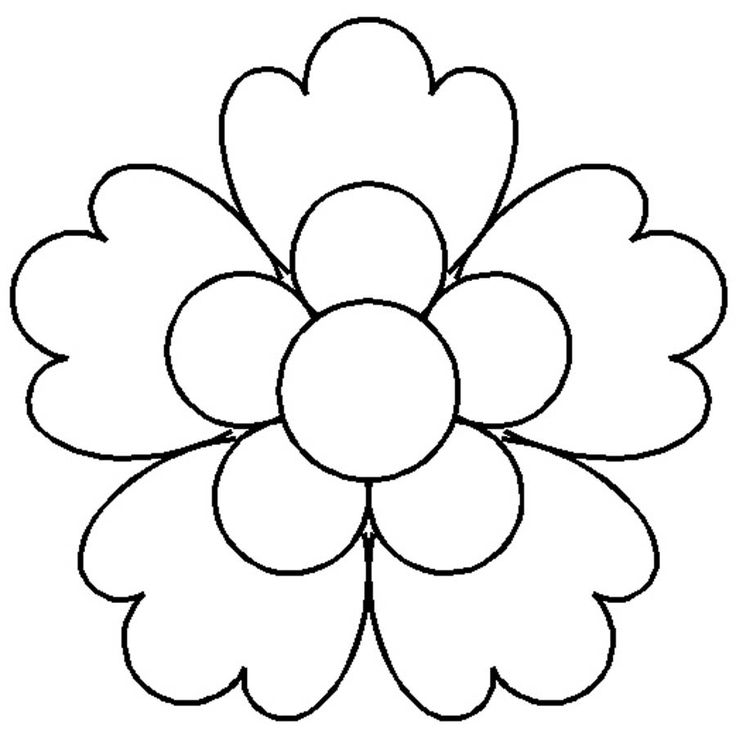 flowers to print out flower print out coloring pages at getcoloringscom free print flowers out to