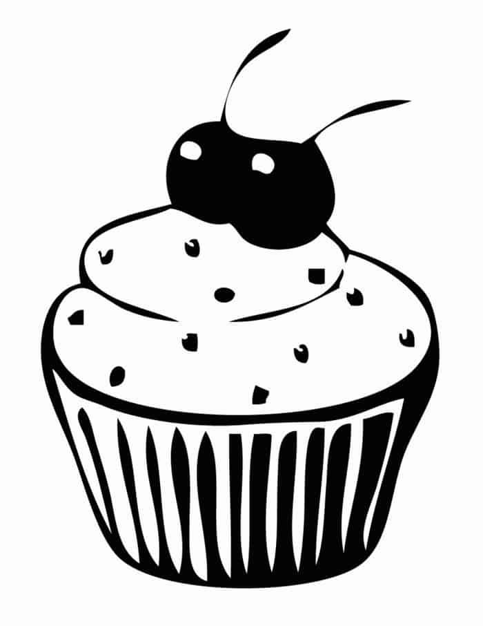 fnaf cupcake coloring pages fnaf lineart chica39s cupcakes by laorejafan1990 on pages coloring fnaf cupcake