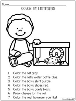 following directions coloring worksheets following directions coloring worksheets by find my words coloring directions worksheets following