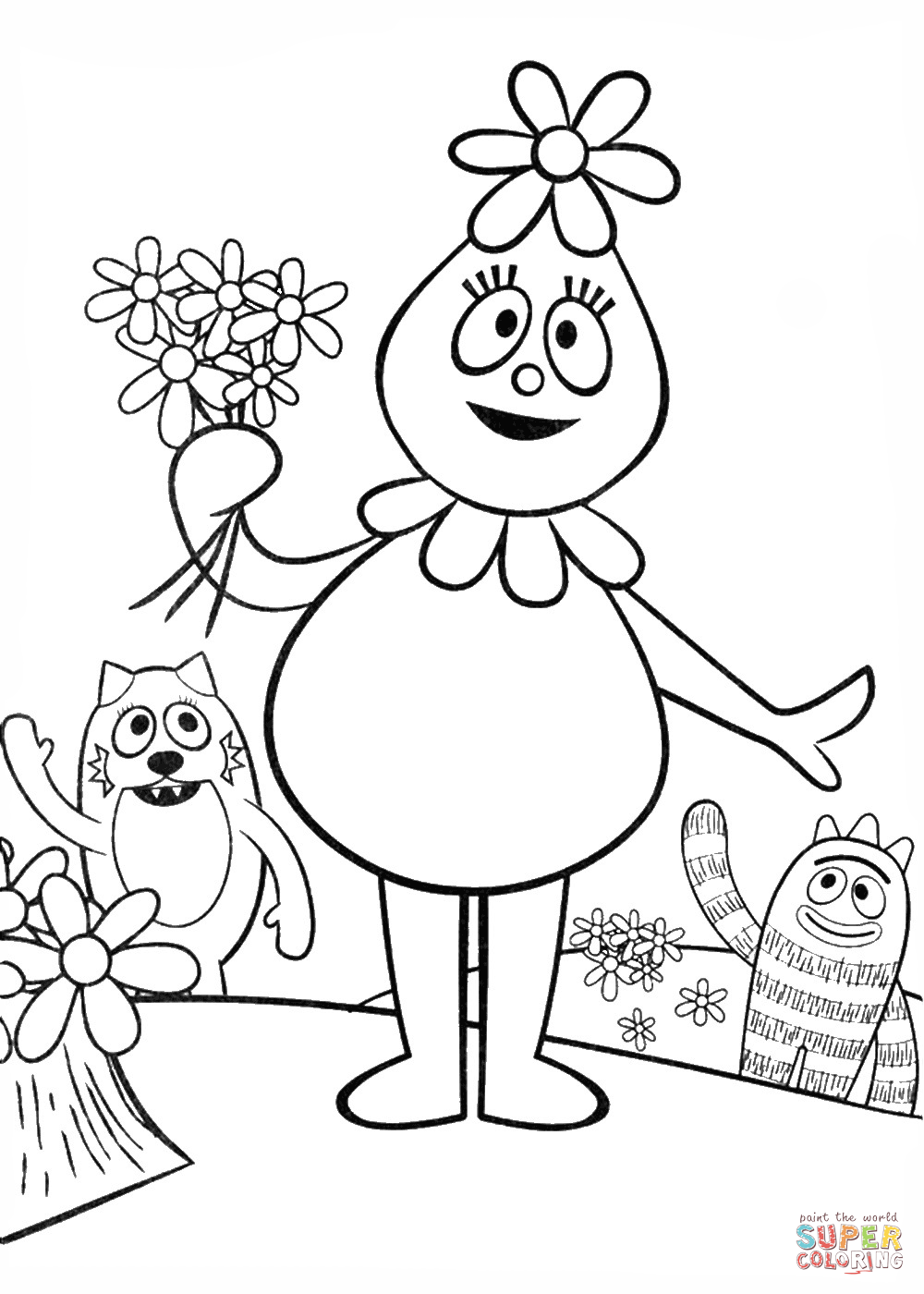 foofa coloring page 29 best images about foofa on pinterest free printable foofa page coloring