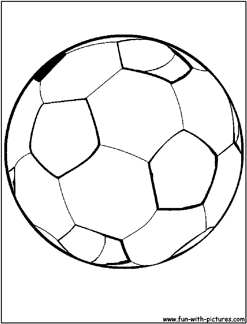 football color page 35 free printable football or soccer coloring pages football color page