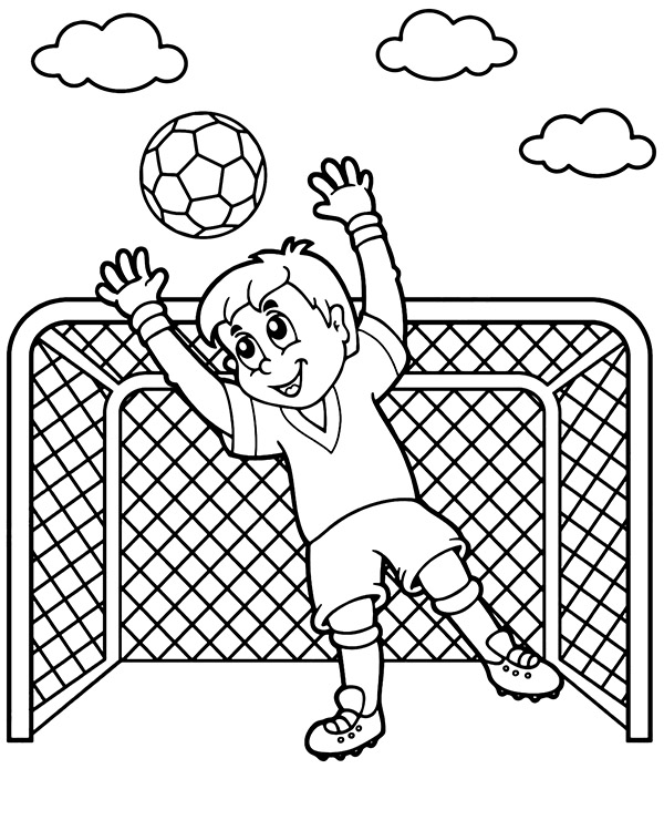 football color page football coloring pages in 2020 football coloring pages color page football