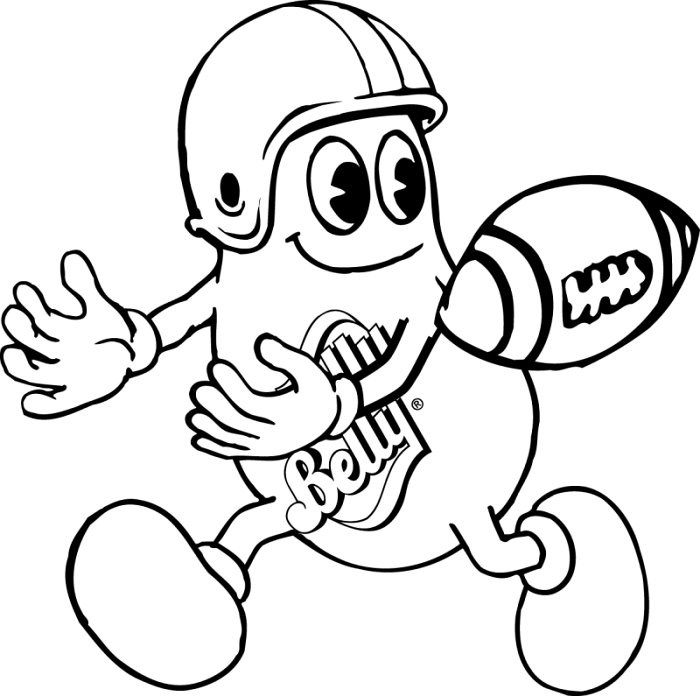 football color page football coloring pages learn to coloring page color football