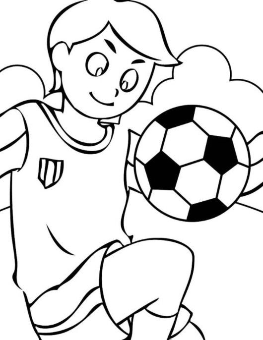 football color page football goal post coloring pages at getcoloringscom color football page