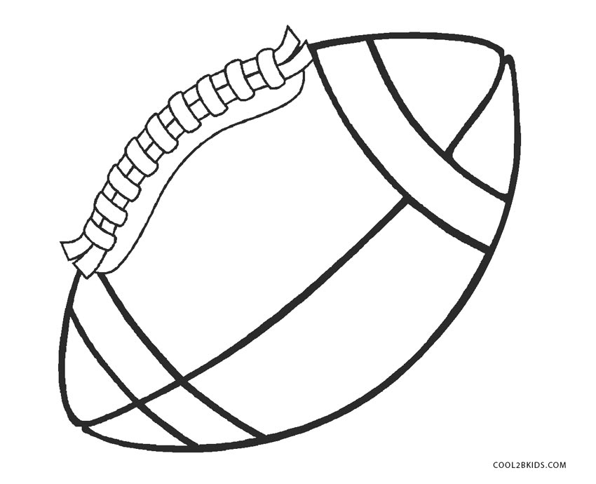 football color page free printable football coloring pages for kids best page color football 1 1