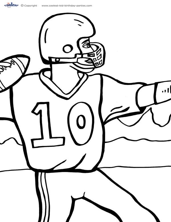 football pictures to print and colour football coloring pages for preschoolers activity shelter and print colour to football pictures