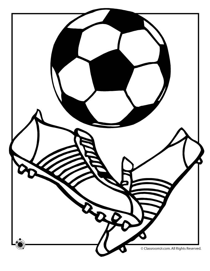 football pictures to print and colour free printable soccer coloring pages for kids to colour print pictures and football