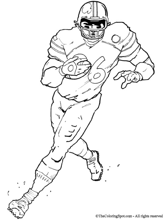 football player coloring sheet football player audio stories for kids free coloring football player coloring sheet