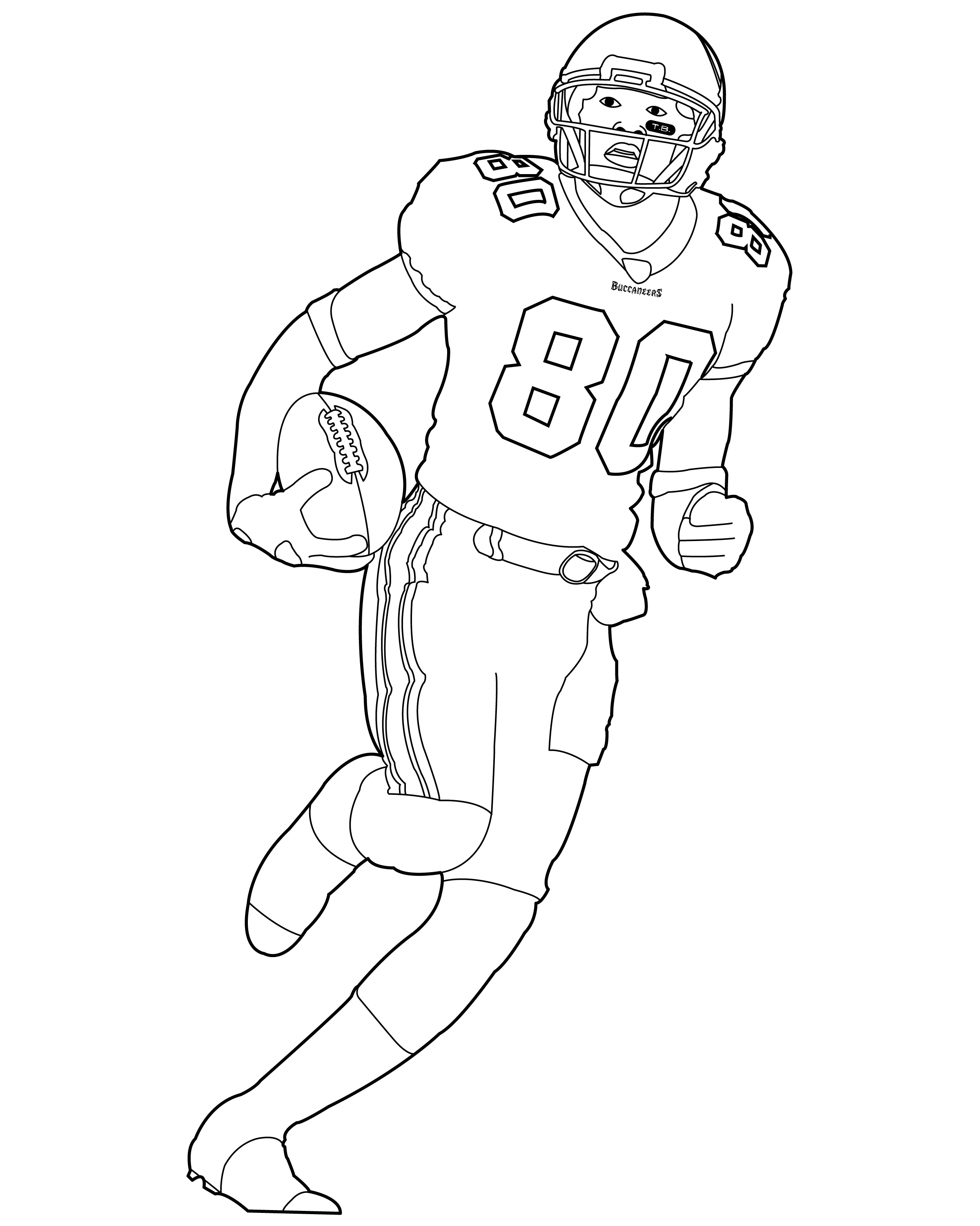 football player coloring sheet football player coloring pages to download and print for free football coloring player sheet