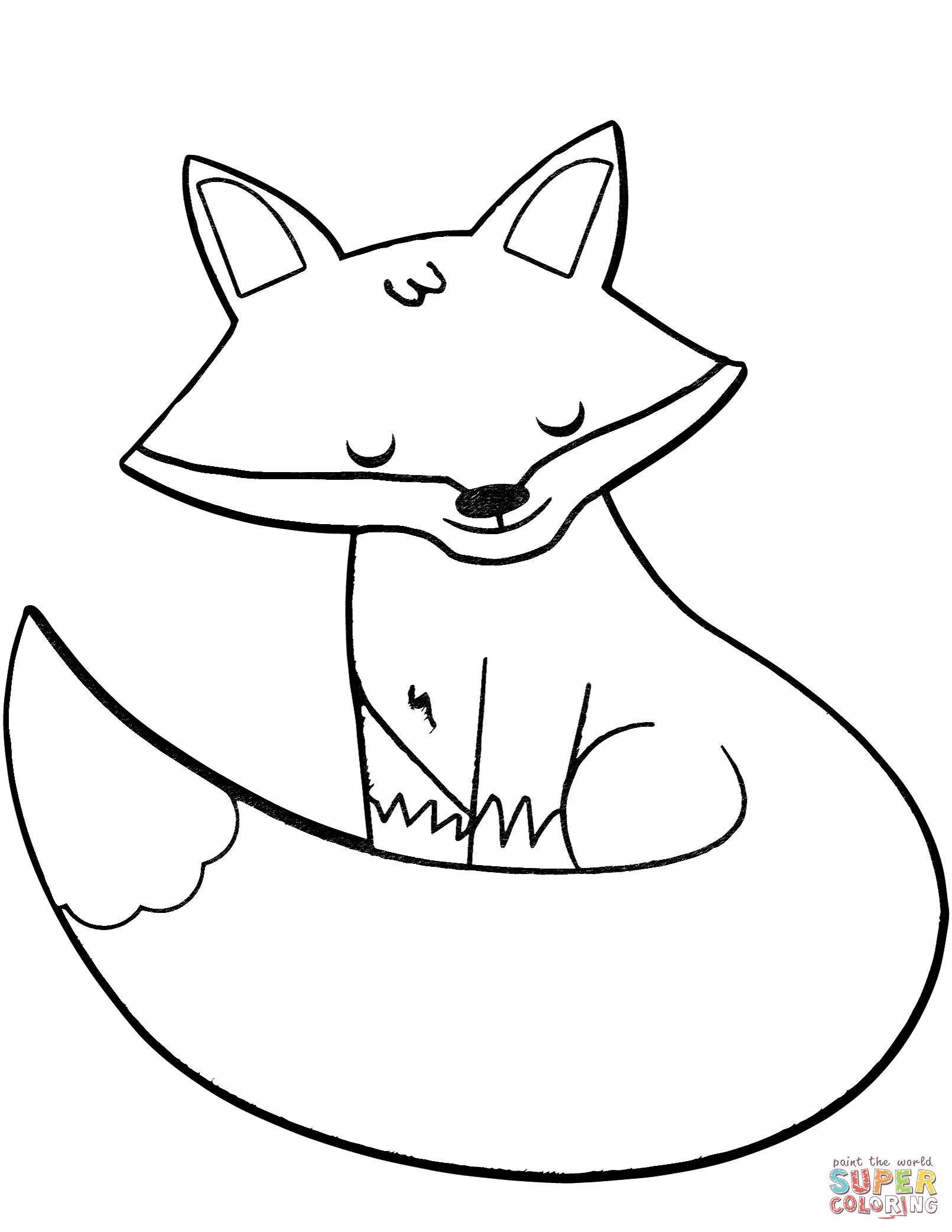 fox face coloring page coloring pages fox face animals gt fox free printable coloring page fox face