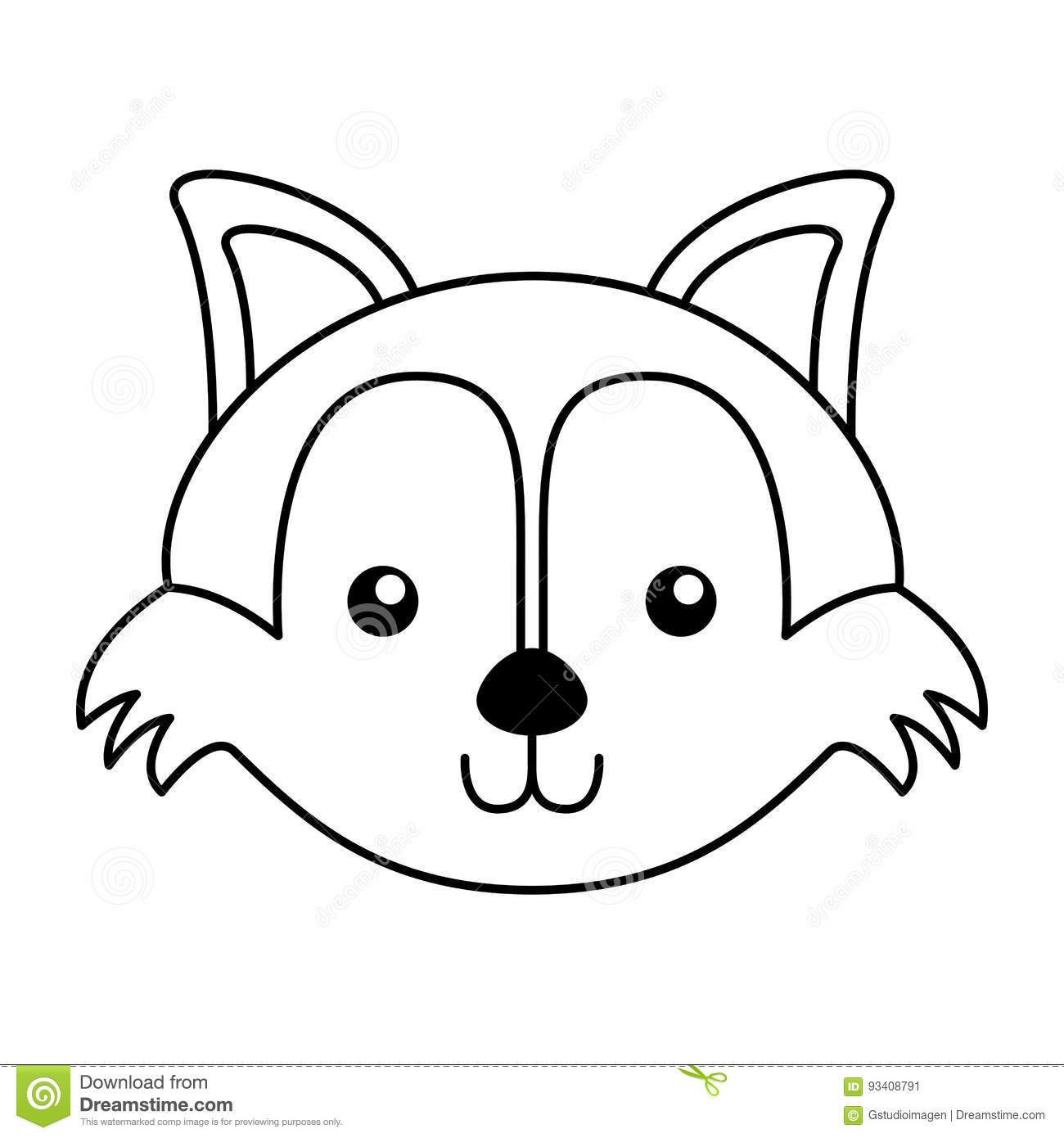 fox face coloring page download zentangle stylized desert mini fox face hand face fox page coloring