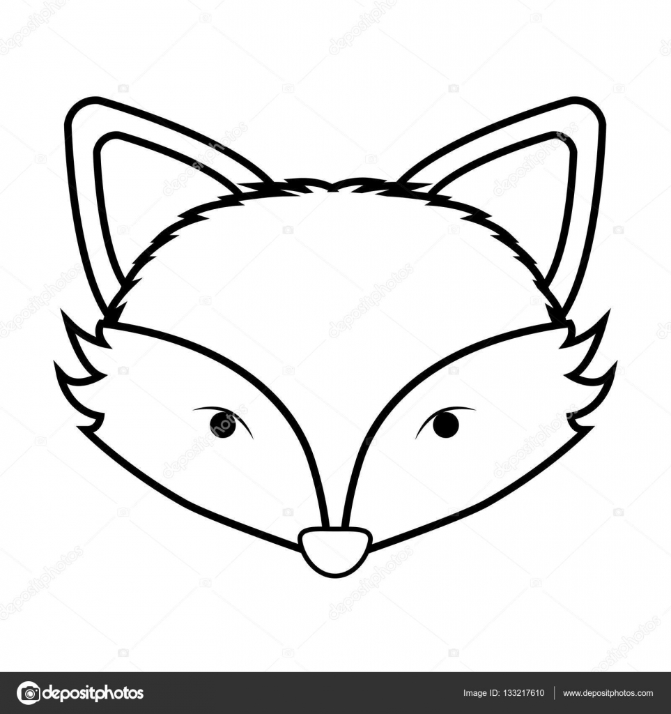 fox face coloring page fox face coloring pages page face coloring fox