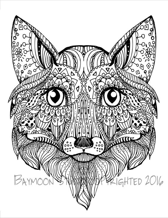 fox face coloring page fox face outline coloring pages face coloring page fox