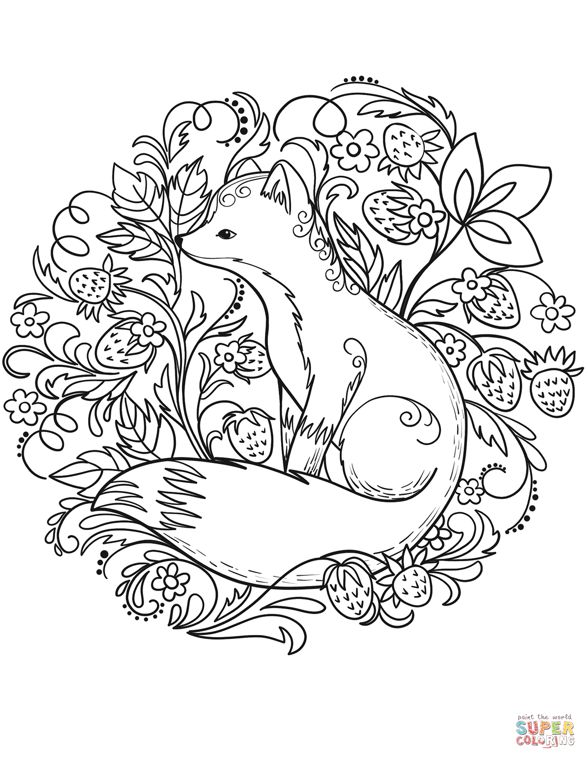 fox face coloring page red fox coloring page free printable coloring pages face fox coloring page