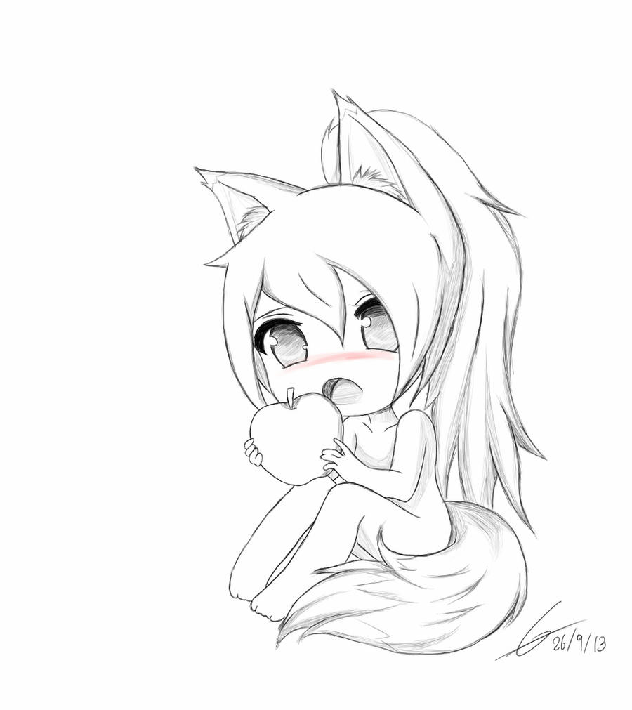 fox girl coloring pages fox school girl by datroll on deviantart coloring girl pages fox