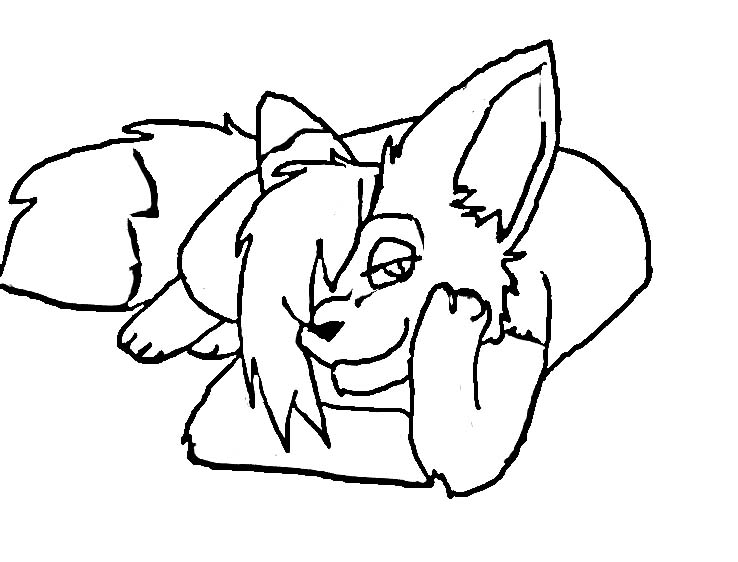 fox girl coloring pages pin on mcoloring coloring pages girl fox