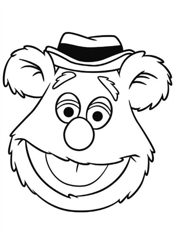 fozzie bear coloring pages 17 fozzie bear coloring pages printable coloring pages fozzie pages bear coloring
