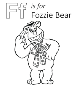 fozzie bear coloring pages muppets fozzie bear coloring pages coloring pages bear fozzie pages coloring