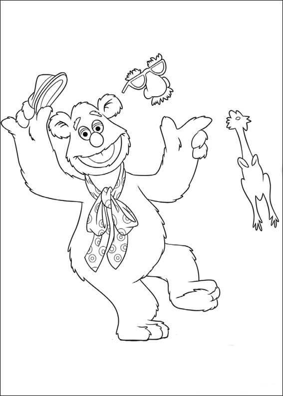 fozzie bear coloring pages step by step how to draw fozzie bear from the muppet show coloring fozzie bear pages