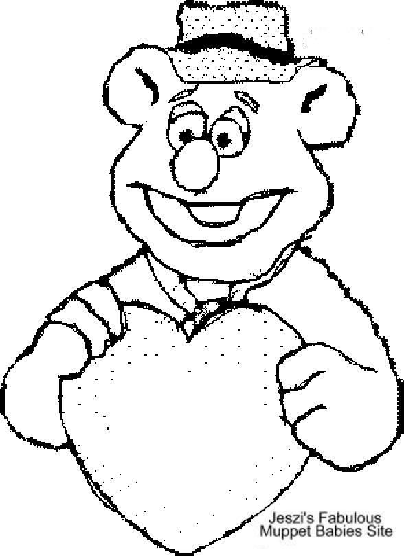 fozzie bear coloring pages the muppets fozzie bear wild west cowboy coloring pages coloring fozzie bear pages