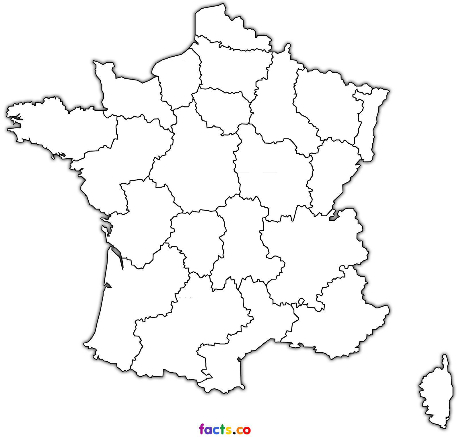 france map coloring page blank map of france coloring page print color fun coloring page map france
