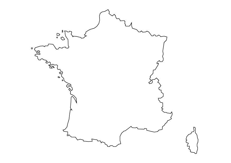 france map coloring page france map outline coloring home map france coloring page